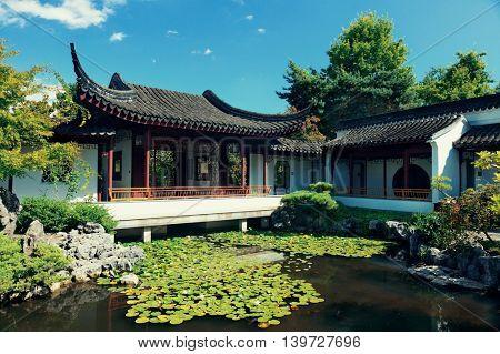 Sun Yat-Sen Garden in Vancouver, Canada