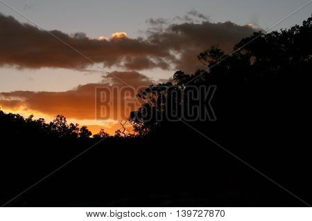 Sunset in the Daintree Rainforest, Tropical North Queensland, Australia