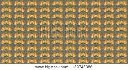 abstract gold bows gift paper background illustration