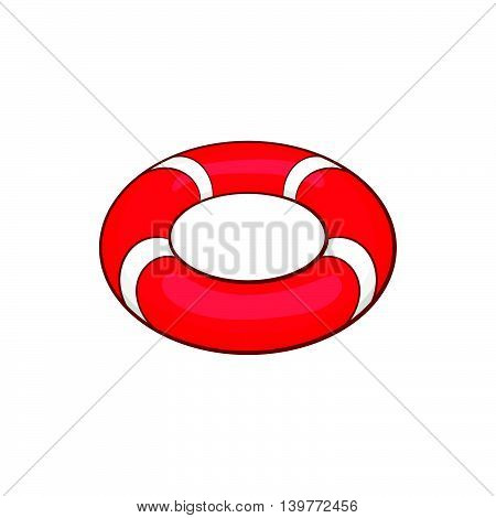Lifeline icon in cartoon style isolated on white background. Equipment symbol