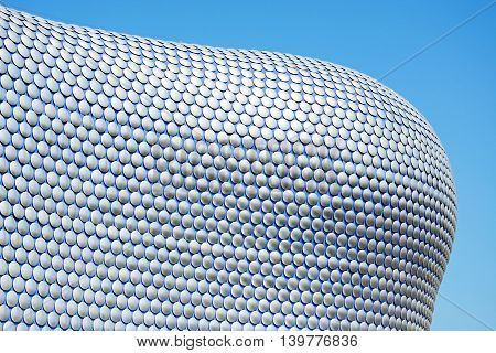 BIRMINGHAM, UNITED KINGDOM - JUNE 6, 2016 - View of the Selfridges building in the Bullring Birmingham England UK Western Europe, June 6, 2016.