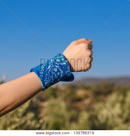 Hand With Fist Square