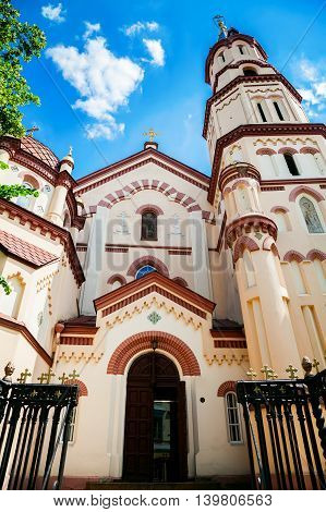 St. Nicholas Church in Vilnius - one of the oldest examples of Gothic architecture in Lithuania