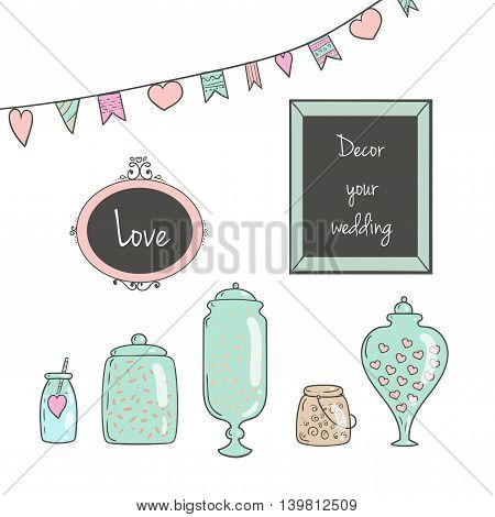 lass jars with sweets pictures in frames cake.Ideal for wedding invitations and save the date invitations and party