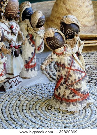 South America Souvenirs from the Amazonian jungle developed by local Native Americans Brazil