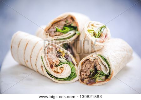 Tortilla Wraps, Light Food Ideas