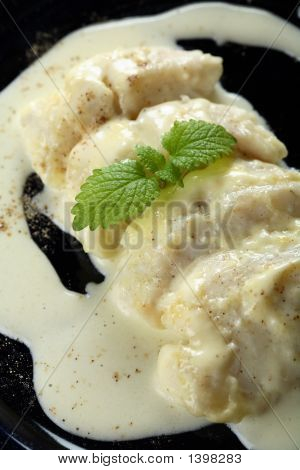 Stewed Cod With Creamy Dressing