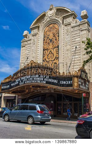 Kings Theatre In Brooklyn, New York City