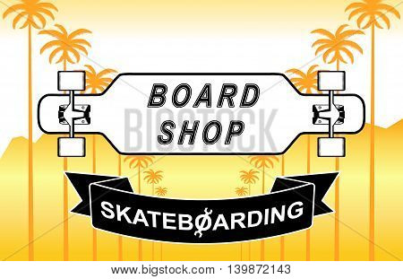The Composition Of Longboard