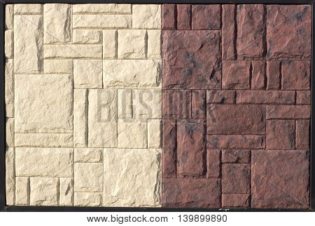 Yellow Ceramic Relief Paving Slabs On Vіstvaochnom