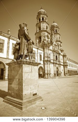 Monuments of Guadalajara Jalisco Mexico, Basilica of Zapopan