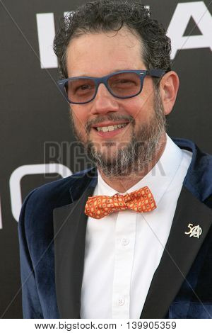 Michael Giacchino attends at the Star TreK Beyond  premiere during Comic Con on July 20, 2016 at the Embarcadero Marina Park South in San Diego, CA.