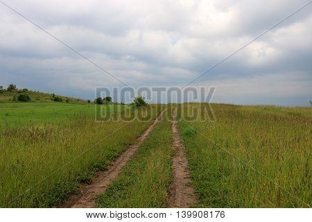 nature Naroch edge of a large resort region of Belarus.