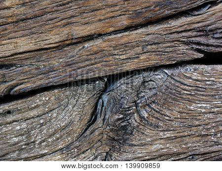 old board, board with cracks and roughness, as a background
