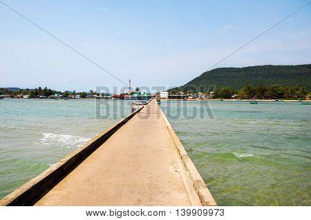 Ham Ninh fishing village, Phu Quoc island, Vietnam
