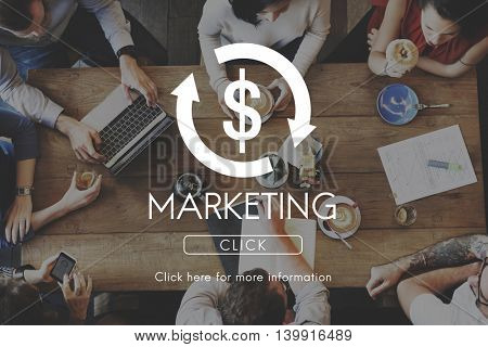Marketing Business Cycle Economy Financial Concept