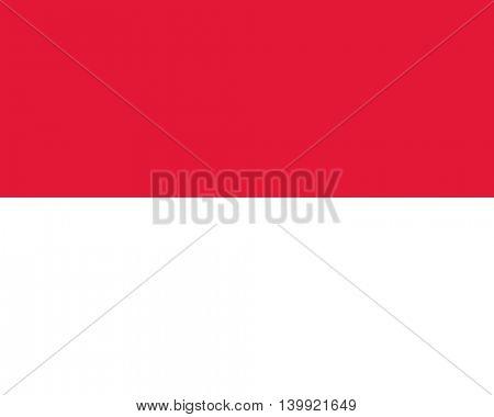 Vector Monaco flag