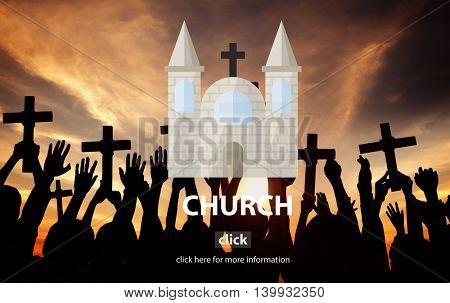 Church Christian Faith Religious Temple Religious Concept