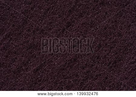 Abrasive , dark and sponge texture close up