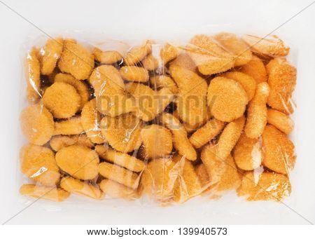 frozen fish nuggets