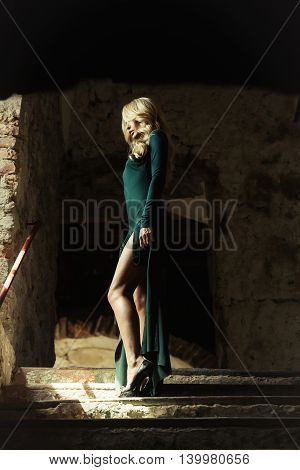 Young Woman Blonde