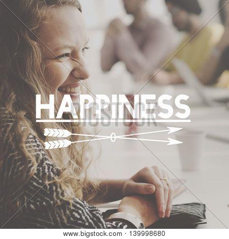 Happy Enjoy Imagine Dream Inspire Concept
