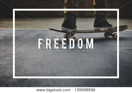 Freedom Emancipated Human Rights Lberty Concept