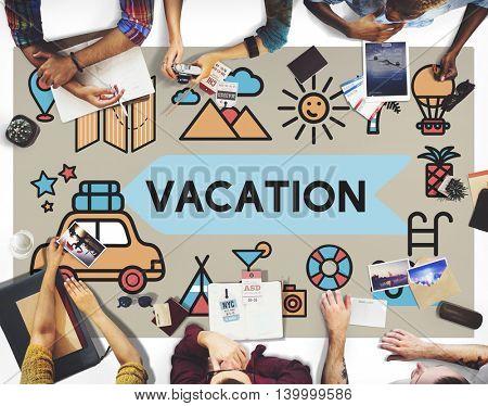 Travel Vacation Sun Fun Enjoyment Concept