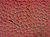 red wall texture poster