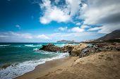 Falasarna beach, Crete island, Greece. Falassarna is one of the best beaches in Creta poster