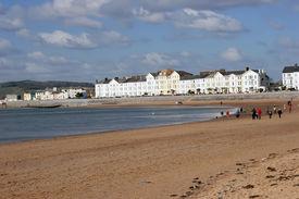 Bucht und Strand von Exmouth