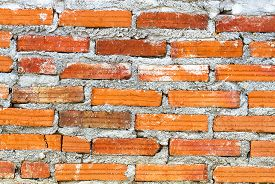 close up Background of  old brick wall texture