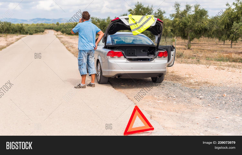Spanish Landscape Car Image Photo Free Trial Bigstock