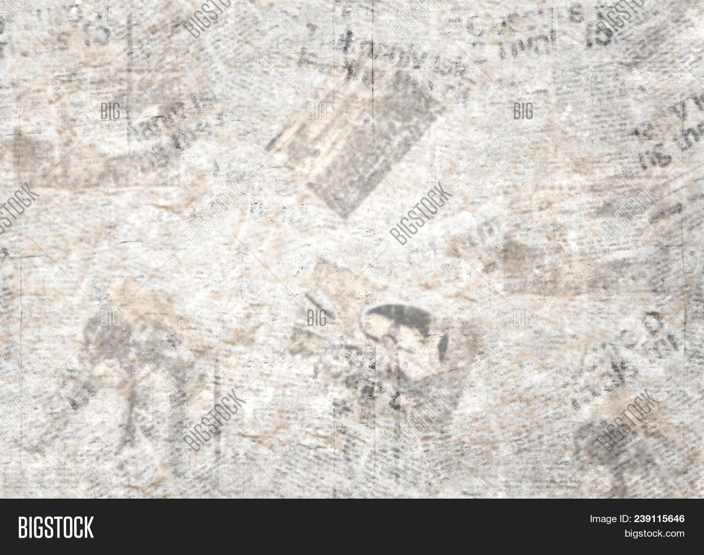 Old Grunge Newspaper Image Photo Free Trial Bigstock