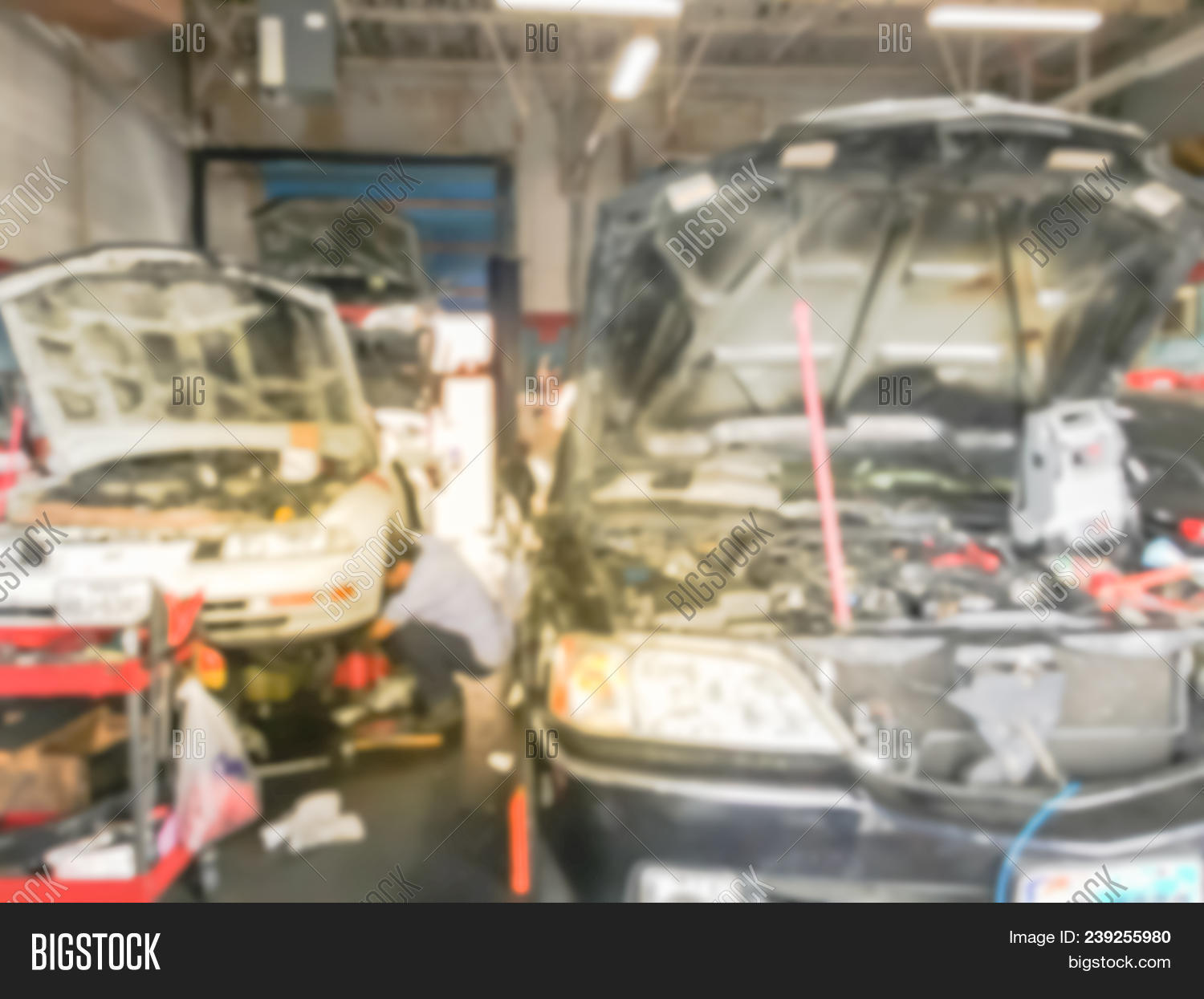 Abstract Auto Repair Image Photo Free Trial Bigstock