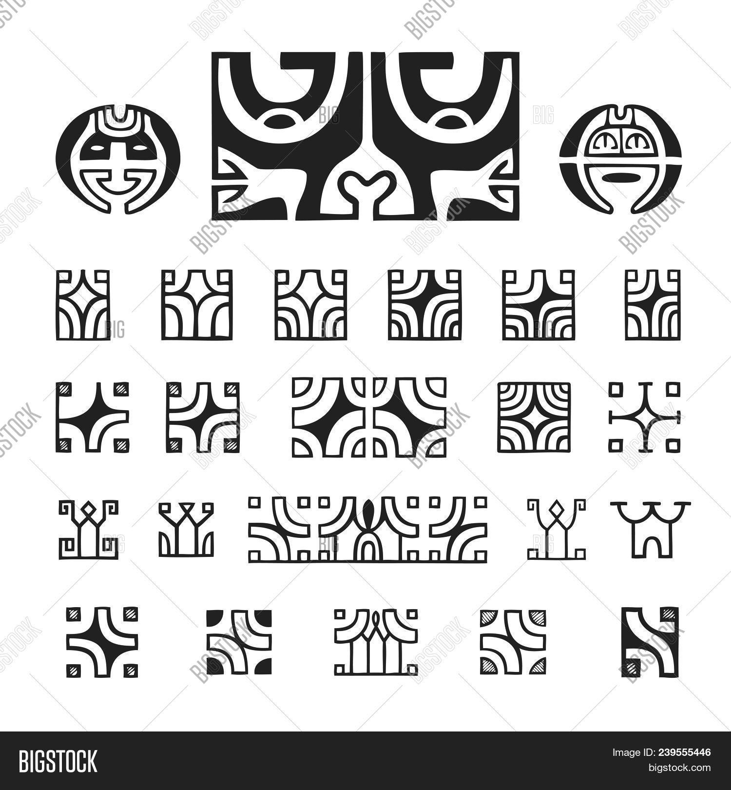 Polynesian Tattoo Image Photo Free Trial Bigstock