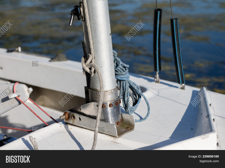 Mast Small Sailboat  Image & Photo (Free Trial) | Bigstock