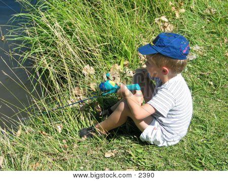 Fishing Little Boy