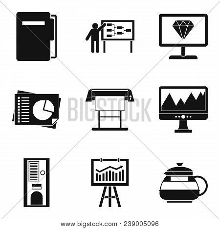 Operating Regime Icons Set. Simple Set Of 9 Operating Regime Vector Icons For Web Isolated On White