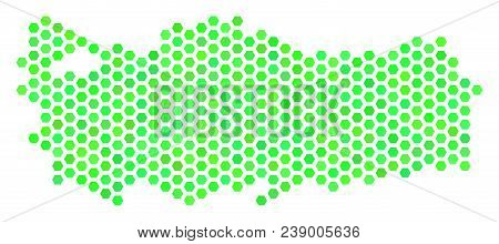Eco Green Turkey Map Vector & Photo (Free Trial) | Bigstock