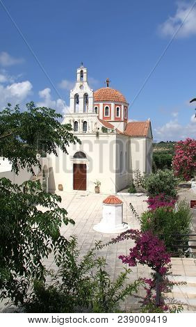 Saint Mark's Church In The Cretan Monastery Arsenioy
