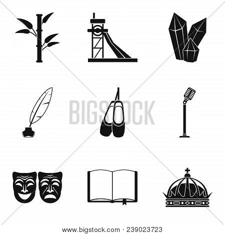 Finding Icons Set. Simple Set Of 9 Finding Vector Icons For Web Isolated On White Background