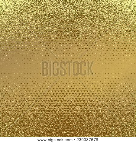 Abstract Gold Glitter Grunge Vector Background. Golden Trendy Modern And Stylish Minimal Design For