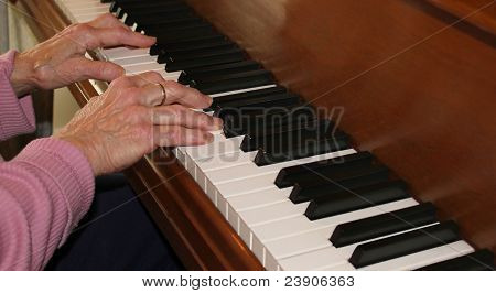 piano hands with experience