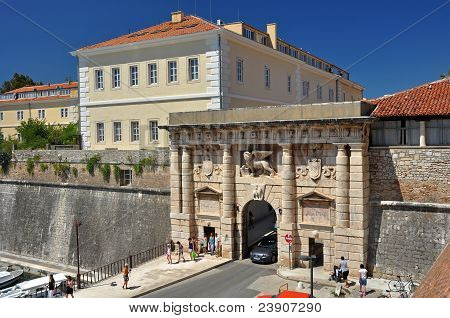 The Land Gate to Zadar