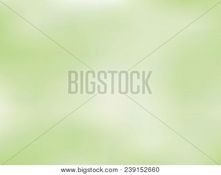 Pale Green Gradient Background. Light Blur Backdrop. Delicate Pattern. Vector  Abstract  Texture. Br