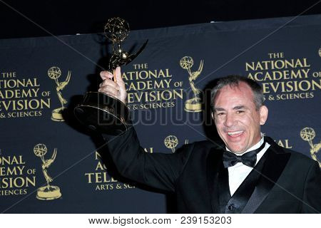 PASADENA - APR 27: Jay Hatcher, Outstanding Directing Special Class at the 45th Daytime Creative Arts Emmy Awards Gala at the Pasadena Civic Center on April 27, 2018 in Pasadena, California