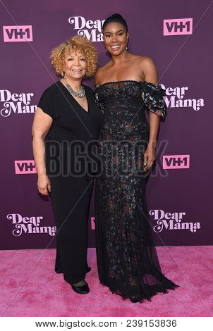 LOS ANGELES - MAY 03:  Gabrielle Union and Theresa Union arrives for the VH1's 3rd Annual 'Dear Mama: A Love Letter to Moms' on May 3, 2018 in Los Angeles, CA