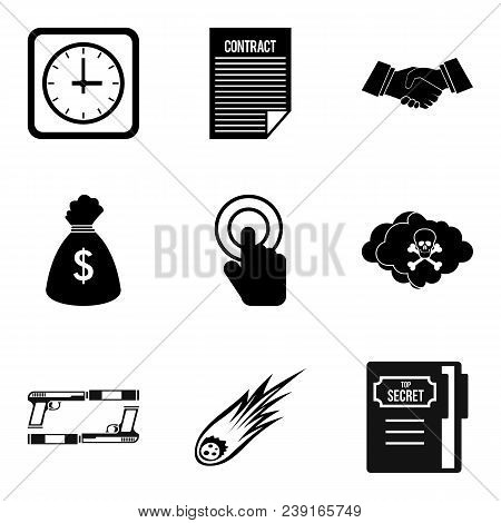 Copyist Icons Set. Simple Set Of 9 Copyist Vector Icons For Web Isolated On White Background