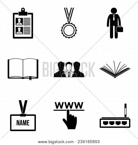 Imitator Icons Set. Simple Set Of 9 Imitator Vector Icons For Web Isolated On White Background
